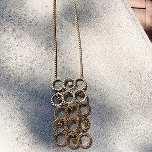 Trina Turk gold tone necklace